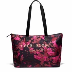 Henri Bendel Limited Edition Floral Camo Tote